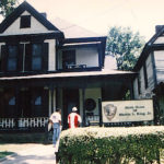 A 1990s image of the Birth Home of Martin Luther King Jr. at the Martin Luther K...