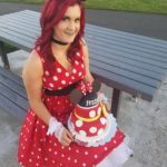 Beautiful Minnie Mouse birthday cake by Cakes by Crystal: …