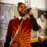 Jidenna Yesterday at the Martin Luther King March in San Antonio.       ...