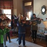 Saturday morning  rehearsal! Our advanced string group is super excited to play ...