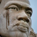 THE KING'S TEARSMartin Luther King, Jr. National MemorialIn Washington DC,...