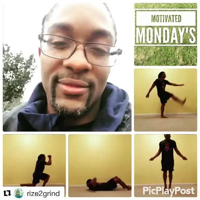 with ・・・ Rize2Grind it's  time. Challenge for today is 1. Reverse lunges - ...