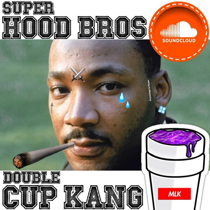 "• Double Cup Kang | Titty ""2 Cups"" Kang • New Podcast   • Link In Bio…"