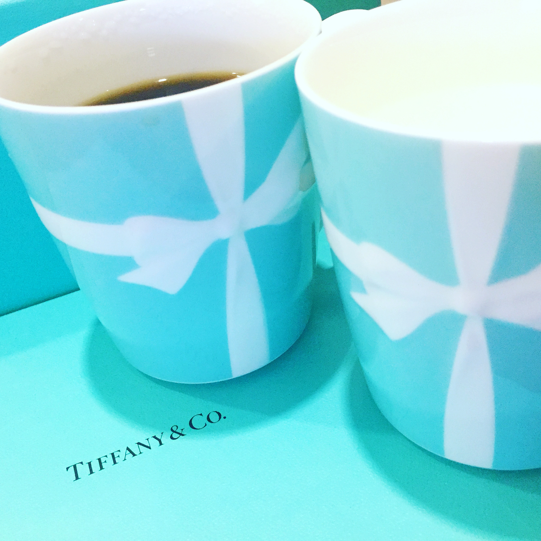 ️・️・🤰 * pic 1 → These are mugs which we bought for our christmas present at Tiff...