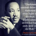 All that he fought for, which was non-violence. Martin Luther King Day. We have …