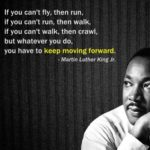 Always keep moving forward….