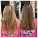 Another client from today. We shampooed with Black 2 and 1 twice, used Renew sha...