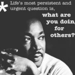 As this Martin Luther King Day comes to an end, let us practice what he preached…
