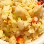 Haitian cole slaw is called  and it's so spicy which I combined with American st...