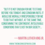 HAPPY MARTIN LUTHER KING JR. DAY!  This is an interesting holiday for me because...