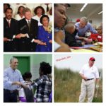 Here is a collage of how our current and past presidents spent their MLK Days.  ...