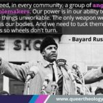 In honor of  I'd like to honor his mentor & supporter, organizer of the 1963 Mar…