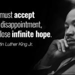 In honor of Martin Luther king Jr day …