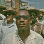 Martin Luther King, Jr. during the March Against Fear in Mississippi, June, 1966
