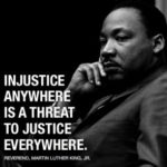 Martin Luther King on injustice