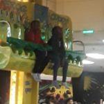 My lil sisters at   they had a lot of fun...