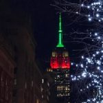 ON MONDAY, JANUARY 15, 2018, THE EMPIRE STATE BUILDING WILL BE LIT RED, BLACK AN...