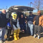 Our Alexandria and Pineville branch team members rode with Petey the Pelican at ...