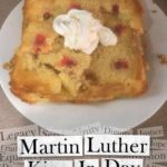 Pineapple upside down cake for Martin Luther King Jr Day!                      …