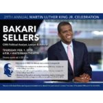 Reminder: don't forget to get your free ticket from the box office to see Bakari…