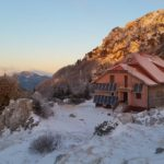 Schlosser's hut on Risnjak mountain has one of the best equiped winter shelter i...