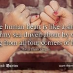 "themindquotes.com : Martin Luther King, Jr. Quotes on Love and Romantic""The hu..."