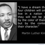 Well said Martin. This is also one of my other favorite qoutes from MLKjr from t…