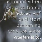 When we as believers discover who we are in Christ and what we are capable of th...