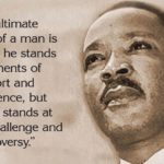 Where do you stand in times of challenge and controversy? Happy birthday to one…