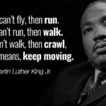 By all means, keep moving.  …