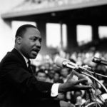 Dr. Martin Luther King. He had a vision and he shared it. He had courage and sto…