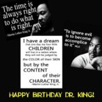 Happy Birthday Dr. King! …