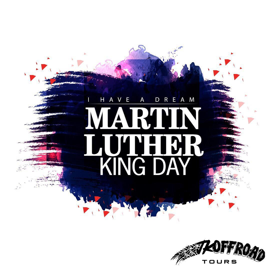 Happy Martin Luther King, Jr. Day from JK Offroad Tours! ⭐️ . . . ...