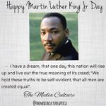 Happy Martin Luther King Jr Day is an American federal holiday marking the birth…