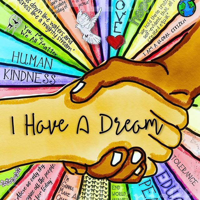 I Have a Dream 2017- This awesome writing activity comes with the MLK sketchnote...