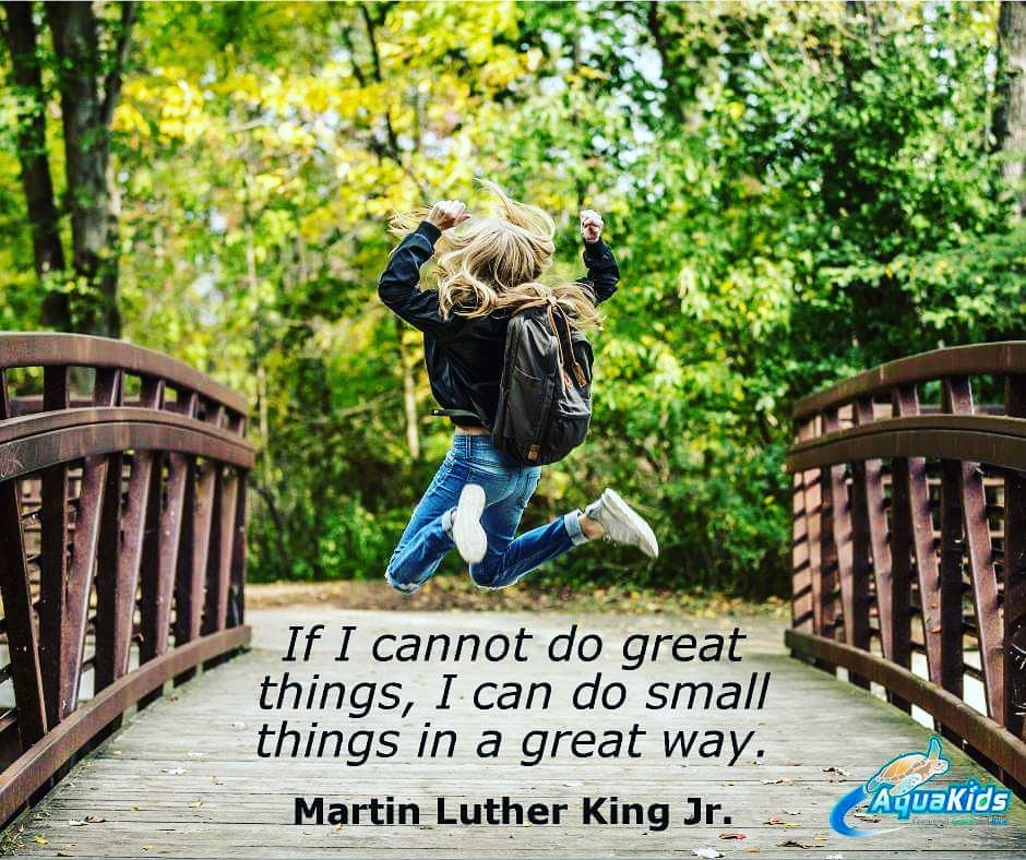 If I cannot do great things MLK Quotes on bravery