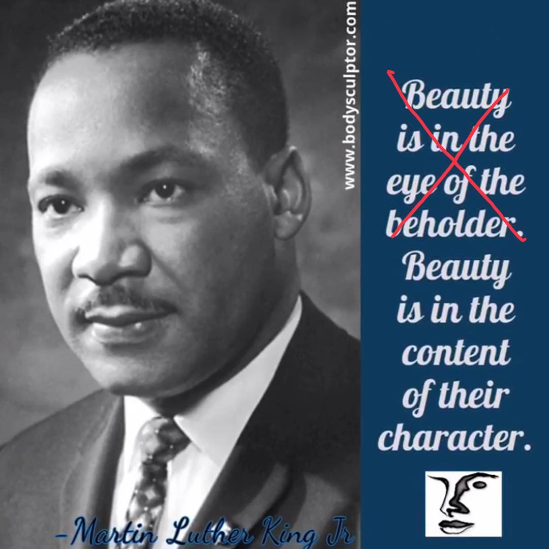 In honor of Martin Luther King Jr. Day. bodysculptor ️(847)398-1660 ...