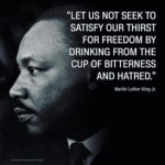 """Let us all hope that the dark clouds of racial prejudice will soon pass away....."