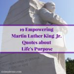 Martin Luther King Jr. was truly a man who lived God's purpose for his life! Rea…