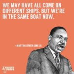 Martin Luther King's words sum up the United States. We all come from different ...