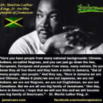 //  // MLK's  connection // Reverend Dr Martin Luther King Jr visited Jamaica in…