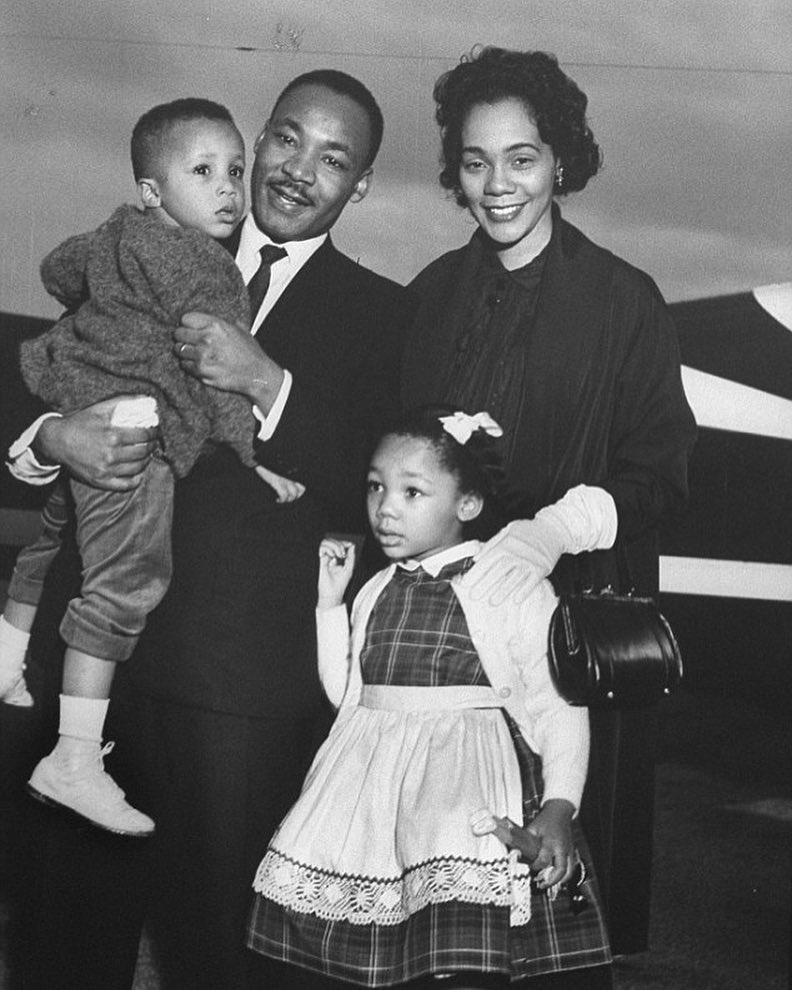Much honor and respect for Martin Luther King ️ The man, the husband, the father...