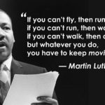 There are so many wonderful MLKJ quotes, but since this is mostly my fitness acc…