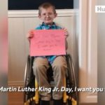 This remarkable boy has an important message for us on Martin Luther King Jr. Da…