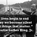 We can't stay silent anymore. ...