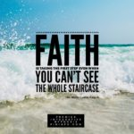 """Faith is taking the first step even when you can't see the whole staircase.""   …"