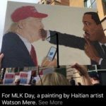 In honor of Martin Luther King, Jr. ...