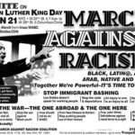 martin luther king jr quotes on racism | wake up call: March against racism to h...