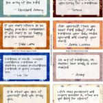 put my favorite quotes on cute paper and put them on the wall, maybe by my mirro…