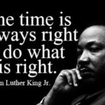 Remembering Dr. Martin Luther King, Jr. today     …